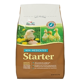 Chick Starter Feed, Non-Medicated, 5lb bag