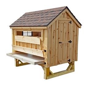 Cottage Style 4x6 Chicken Coop Up To 15 Chickens From My