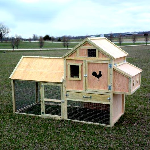 How can my coop be well ventilated but not drafty?