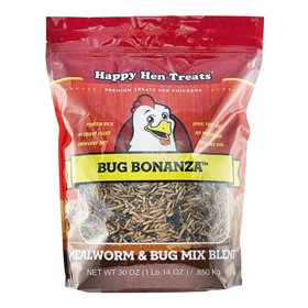 Happy Hen Treats Bug Bonanza 4-Bug Blend, 30 oz
