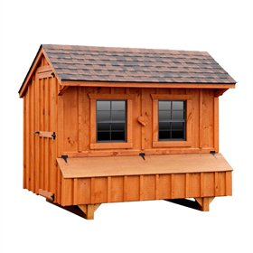 Craftsman 5x8 Chicken Coop (up to 24 chickens)