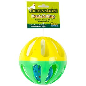 Ware Chicken Peck-N-Play Boredom Busting Ball