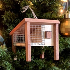 The Hutch Cedar Handmade Ornament