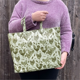 Ultra Strong Chicken & Rooster Shopper Tote
