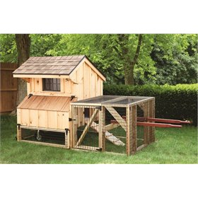 Craftsman 3x4 Chicken Tractor Coop plus Run (up to 6 chickens)