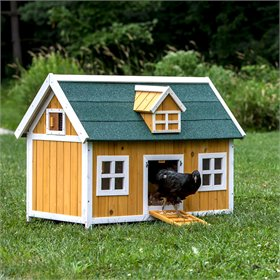 The Cottage Chicken/Duck/Rabbit House with optional run (4 chickens)