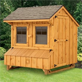 Craftsman 4x6 Chicken Coop (for 12-15 chickens)