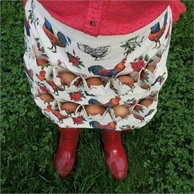 Red Rooster Egg Collecting Apron®