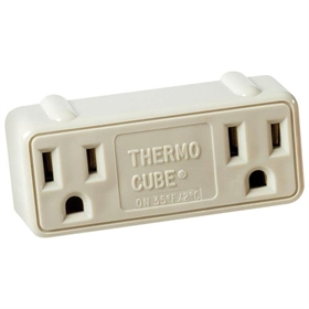 Thermo-Cube Thermostatic multiplug for cold temps