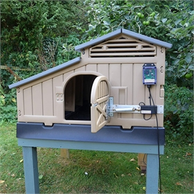 Automatic Solar Door Opener for Formex Chicken Coops