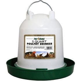 Basic Poultry Waterer, 2 sizes