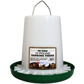 Plastic Hanging Poultry Feeder (see size options)