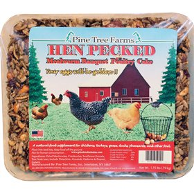 Hen Pecked Mealworm Poultry Suet Cake, 7.5 oz