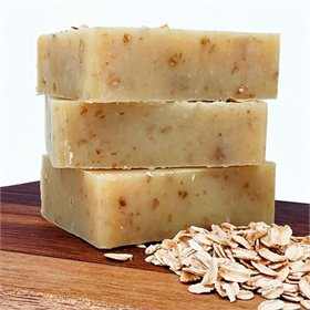 Oatmeal Egg Yolk Soap (naked)