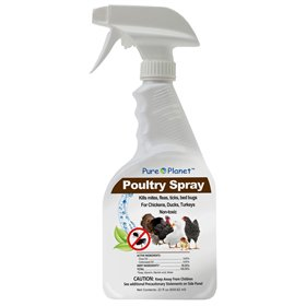 Pure Planet Bug-Killing Poultry Spray, 22 oz