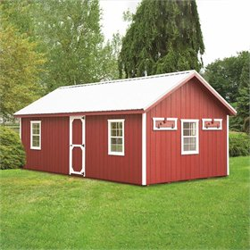 12' x 24' Customizable Chicken Coop w/Feed Room (100 chickens)