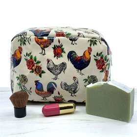 Roos-N-Roses Cosmetic Bag