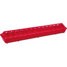 Flip Top Chick Feeder, 20 Red