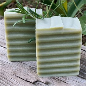 Rosemary and French Green Clay Egg Yolk Soap
