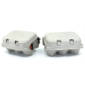 Pulp Egg Carton - 2x6 Eggs