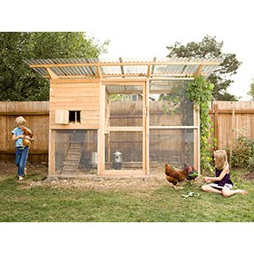 Shiloh CoopRun Building Plans 22 chickens from My Pet Chicken