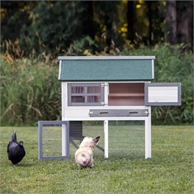 The Townhouse Chicken Coop w/Run Option (up to 3 chickens)