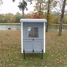 Fiberglass 4x4 Chicken Coop (for up to 8 chickens)