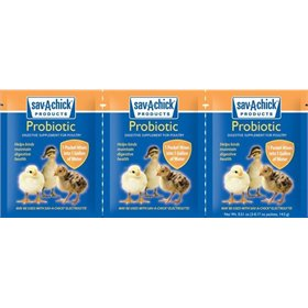 Sav-A-Chick Poultry Probiotic, pack of 3