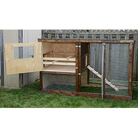 Family Chicken Coop Plans (up to 6 chickens)