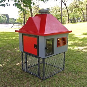 Fiberglass Geo 4' Square Chicken Coop (up to 5 chickens)