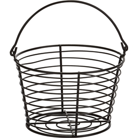 Heavy Duty Egg Basket, Black