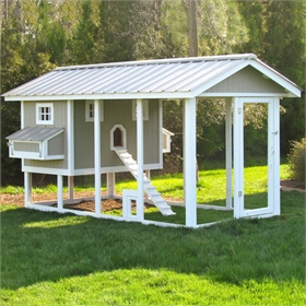 American Coop Chicken Coop w/12' Run (up to 14 chickens)