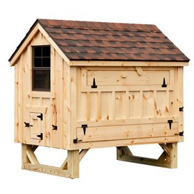 Cottage Style 4x6 chicken coop (up to 15 chickens)