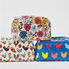 Extra Large Cosmetic Bag (color options)