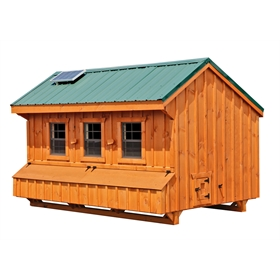 Craftsman 7x12 Chicken Coop (up to 40 chickens)