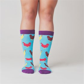 Chicken Party Socks