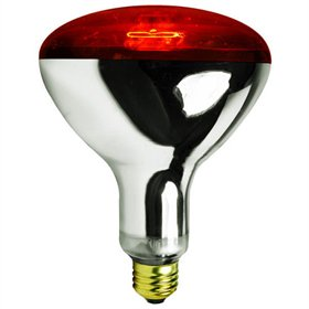 Infrared Heat Lamp Bulb, Red