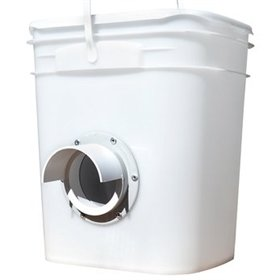 Waste-Free Chicken Bucket Feeder, Single Port