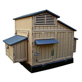 Formex Large Snap Lock Chicken Coop (Up to 12 chickens)