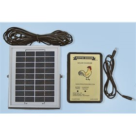 Automatic door solar conversion kit