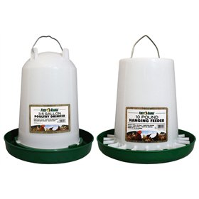 Medium Flock Feeder/Waterer Combo