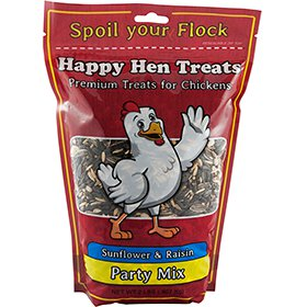 Happy Hen Treats Party Mix, Sunflower & Raisin (2 lb)